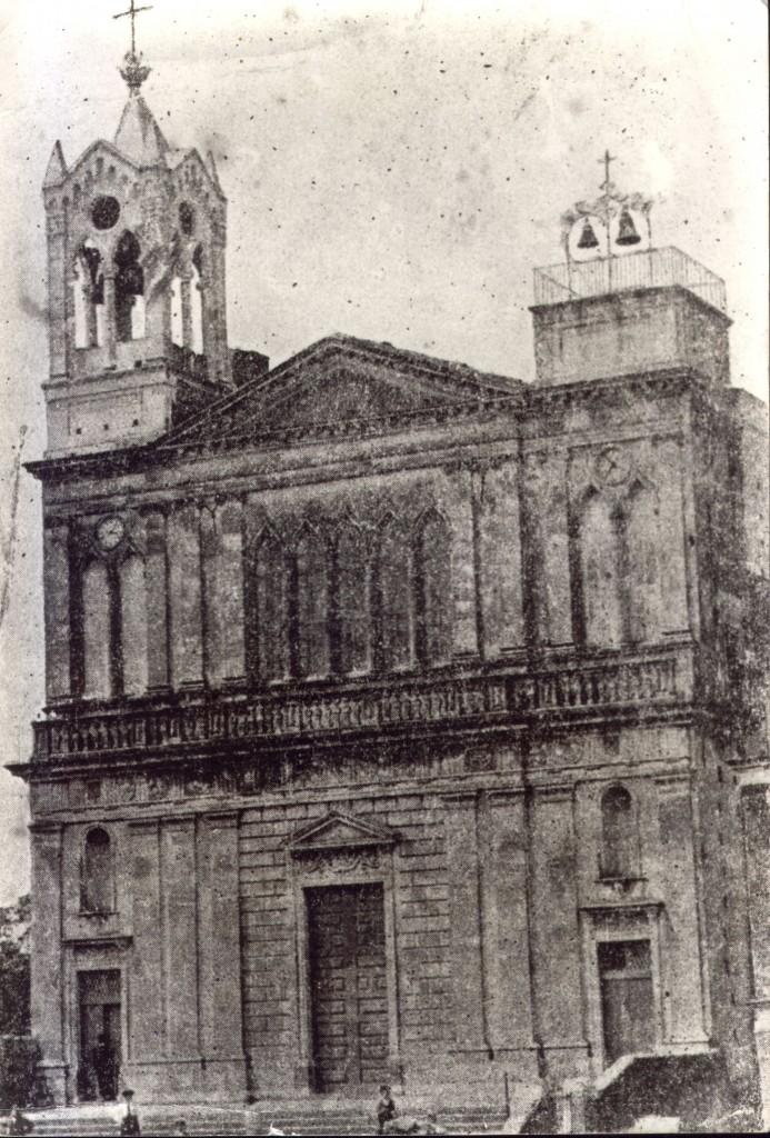 Facciata Chiesa con campanile