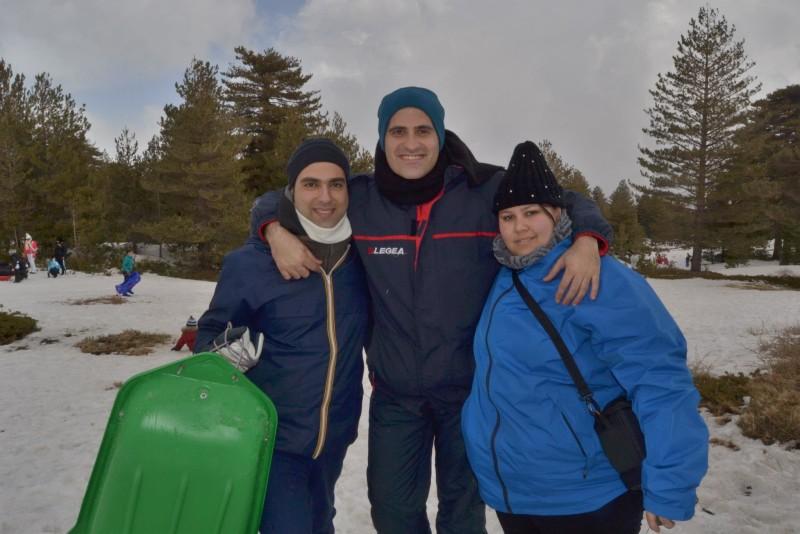 Gita sull'Etna, Gennaio 2012