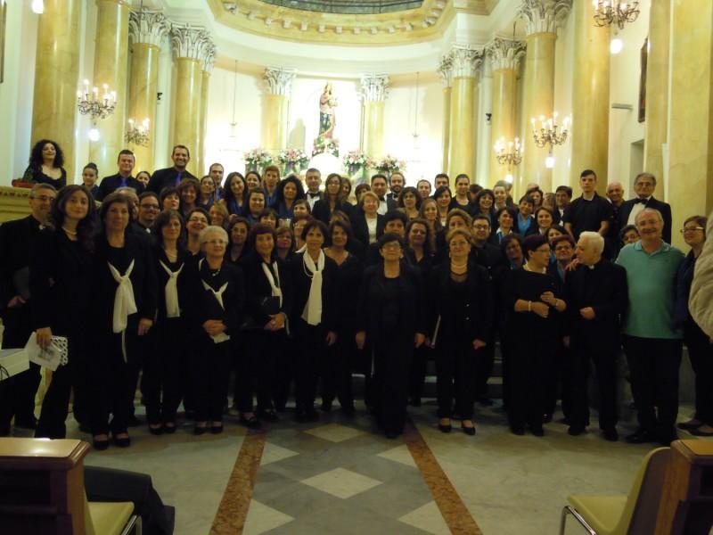"""II Rassegna """"Un canto a Maria"""" - S. M. degli Ammalati, 16 ottobre 2015"""